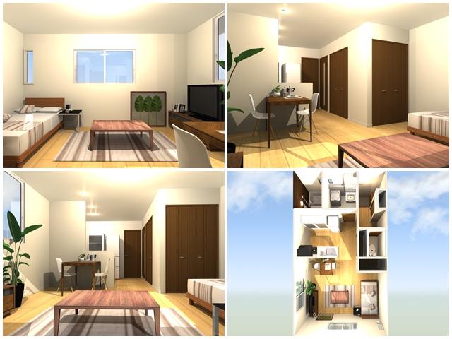 室内イメージ-関屋新築アパート