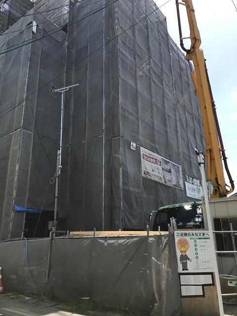 外観建設中-フォレスト6