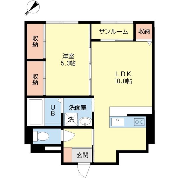 おしゃれで実用的な壁クロス貼替で近隣物件と差別化(賃貸アパート・リノベーション)