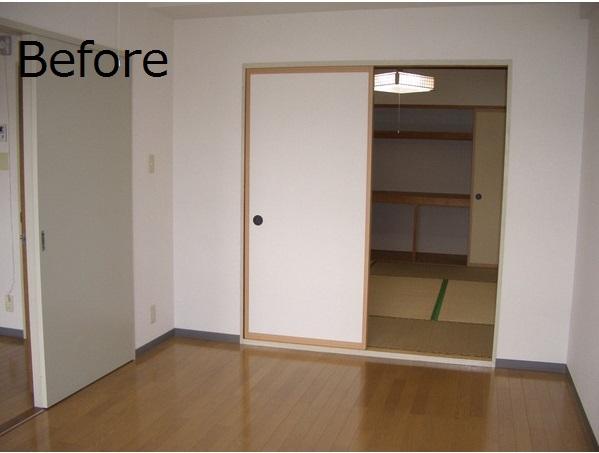 2DK→1LDKで広々と暮らしやすい空間に(賃貸マンション・リノベーション)