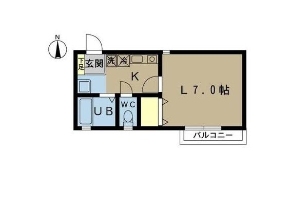 間取り-ガーデンヒルズⅡ106