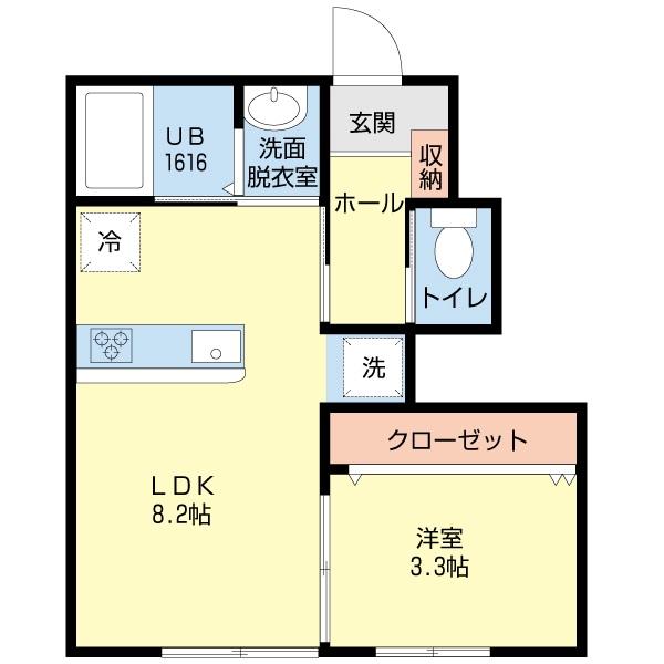 間取り1階-モンテ